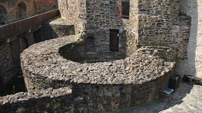 Фундамент башни Святого Эрика