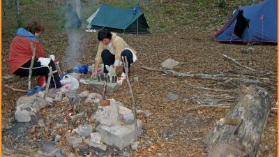 Лагерь второй ночевки