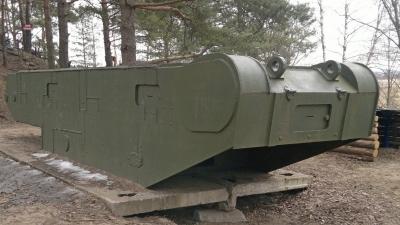 Огневая точка из корпуса танка Т-28