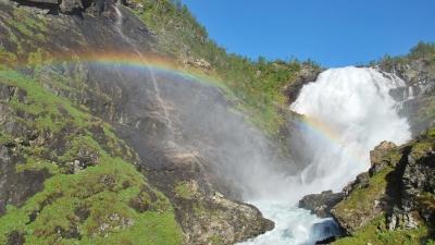 Водопад Кьёсфоссен