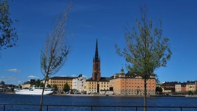 Стокгольм. Рыцарский залив.