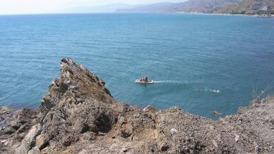 Обход препятствий морем