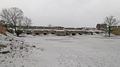 Руины арсенала