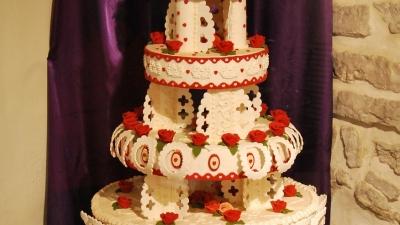 Торт из марципана