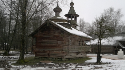 Часовня из деревни Кашира Маловишерского района