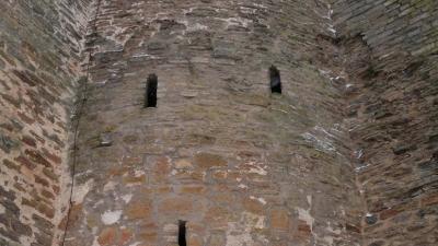 Провиантская башня. Вид из крепости.