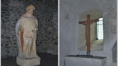 Памятник Святому Олафу и крепостная церковь