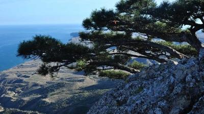 Царский трон на горе Эчки-Даг