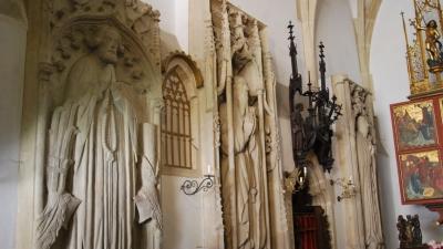 В часовне святой Альжбеты