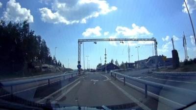 """Пограничный переход """"Швеция-Норвегия"""""""
