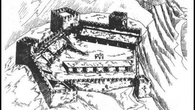 Реконструкция крепости Афинион
