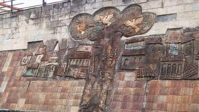Стена памяти погибших защитников горрода