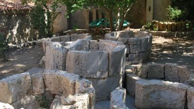 Фрагменты стен минарета