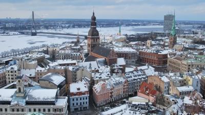 Панорама Старой Риги