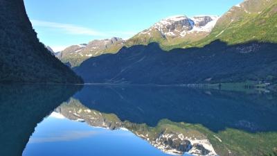 Зеркало озера Олдеватнет