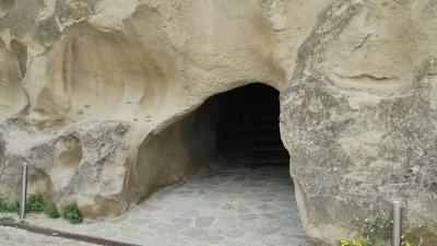 Выход из тоннеля у реки