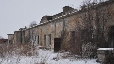Горжевая стена солдатской казармы
