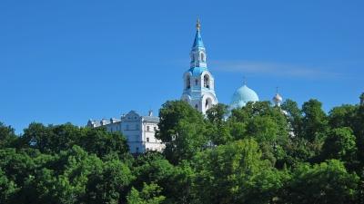 Купола Валаамского  монастыря
