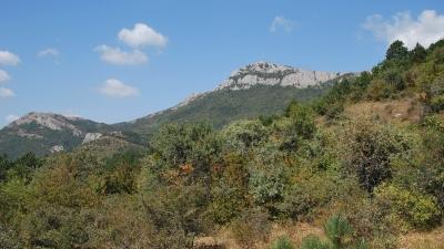Перевал между Ликоном и Такья-Тепе