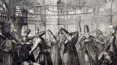 Танец дервишей в древности