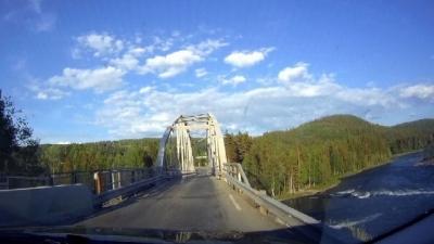 Памятный мост через реку Логен