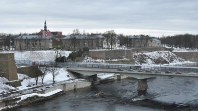 Пограничный переход в Эстонию