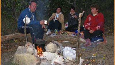 Ужин в теплой компании