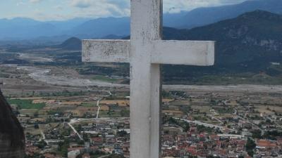 Вид на Фессалийскую долину