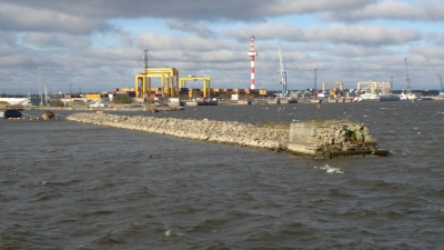 Защитный мол внутренней гавани