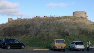 Руины дальномерного павильона