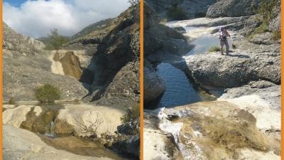Верховья мини-каньона