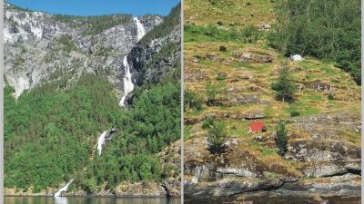 Водопады и палатки