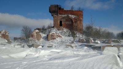 нижние ворота Чертовой лестницы