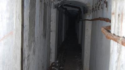 Сквозная потерна форта