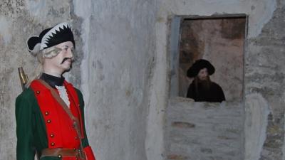 Тюремные камеры подземелья