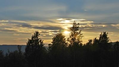 Узоры вечернего неба