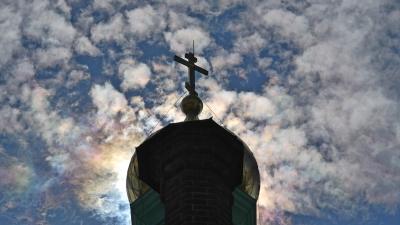 Купол Воскресенской церкви