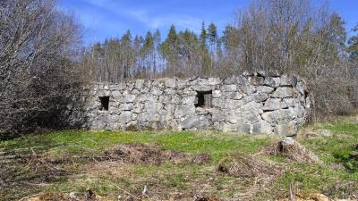 Развалины финского хутора