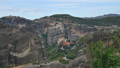 Вид на монастыри