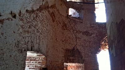 Внутри единственной башни