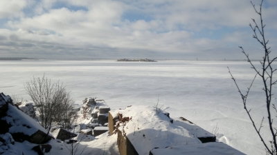 "Вид на форт ""Милютин"""