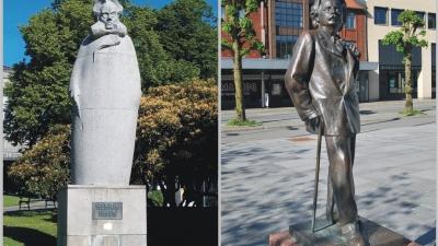 Памятники знаменитостям Бергена