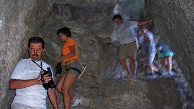 Спуск по Таврской лестнице