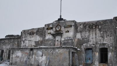 Центральная часть форта