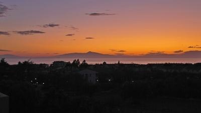 Олимпийские горы на закате