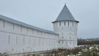 Участок западной стены с Мельничной башней