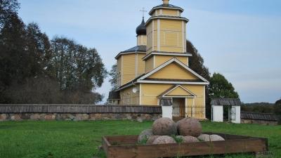 Городище Воронич. Храм святого Георгия