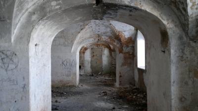 В казарме форта