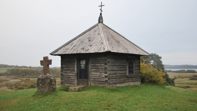 Савкина Горка. Часовня на месте разрушенного монастыря