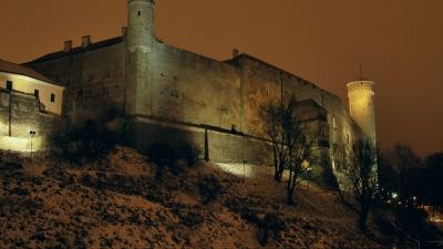 Западный фасад замка Тоомпеа